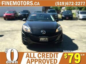 2011 MAZDA MAZDA 3 GS * POWER ROOF * CAR LOANS FOR ALL CREDIT London Ontario image 4