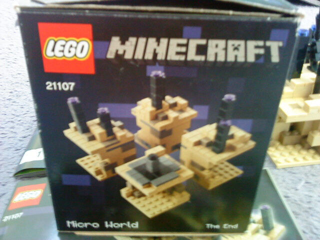 Lego Minecraft Set Micro World The End 21107 In Dewsbury West Yorkshire Gumtree