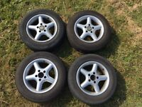 VW T4 Alloy wheels with tyres
