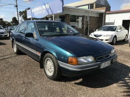 1993 Ford Falcon ED Futura Green 4 Speed Automatic Sedan South Geelong Geelong City Preview