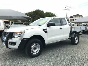 2013 Ford Ranger PX XL 3.2 (4x4) White 6 Speed Manual Super Cab Pick-up Gloucester Gloucester Area Preview