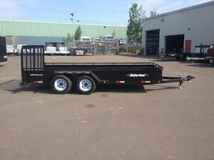 "New 2016 Weberlane 79"" x 16' Equipment Trailer"