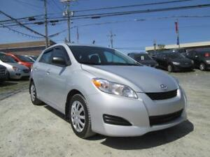 2013 Toyota Matrix LOW KMS!!! $54 WKLY OAC