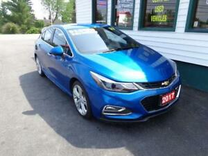 2017 Chevrolet Cruze Premier Hatch for only $161 bi-weekly!