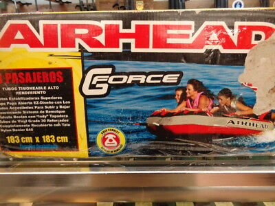 Airhead GForce - 3 Rider Tow-able Water Ski Tube