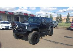 CUSTOM LIFTED JEEP WRANGLER EASY TO FINANCE! 4X4 OFFROAD