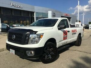 "2017 Nissan Titan S 2"" Suspension Lift Kit, 20"" LRG Wheels, B..."