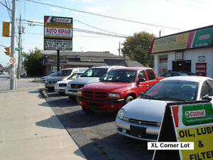 Auto Repair Garage Shop and Car Sales Lot Dealership lnvestment