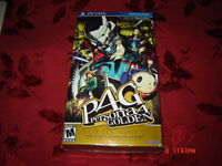 PERSONA 4 GOLDEN LIMITED EDITION PS VITA SEALED NEUF TRES RARE