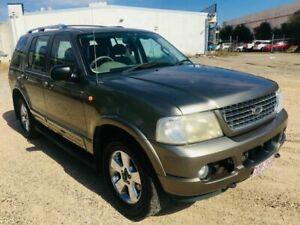 2003 Ford Explorer UX MY2003 Limited Grey 5 Speed Automatic Wagon Underwood Logan Area Preview