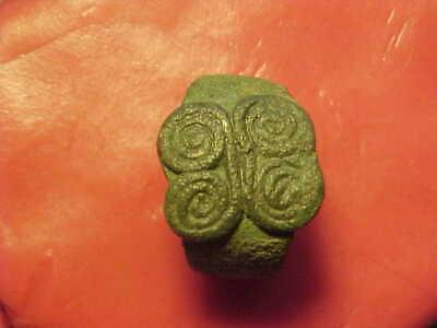 Bactrian bronze ring circa 1st-2nd century BC