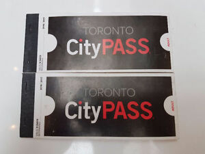 TORONTO CITY PASS 2017 BOOKLET CHEAP ADULT !!