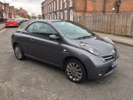 nissan micra convertible lady owner mot 02/11/18