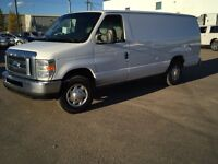 2010 FORD E-250 EXTENDED CARGO VAN!! COMES WITH SHELVING!!