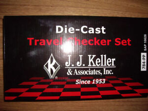 New Die-cast checkers set for sale ..Truro..