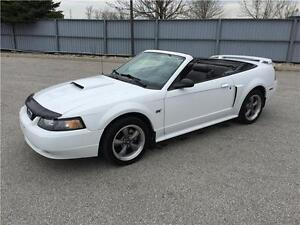 2002 FORD MUSTANG GT CONVERTIBLE*LEATHER*AUTO*GREAT SHAPE