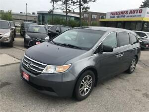 2011 Honda Odyssey EX-L,NO ACCIDENTS,8PASSENGER