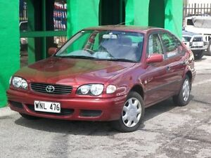 2001 Toyota Corolla new clutch Ascent Manual Nailsworth Prospect Area Preview