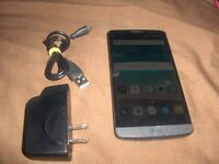 LG G3 D852 Grey in good condition unloked.