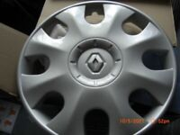 Renault 15 inch wheel trims