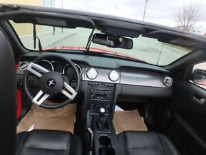 2007 Ford Mustang 2dr - CONVERTIBLE - LEATHER - ALLOYS - LOW KM Kitchener / Waterloo Kitchener Area image 13