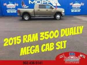 2015 RAM 3500 SLT MEGA CAB DUALLY 6X6 Cummins DIESEL LOW KMS!