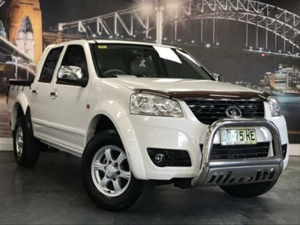 2012 Great Wall V240 K2 White 5 Speed Manual Utility Prospect Blacktown Area Preview