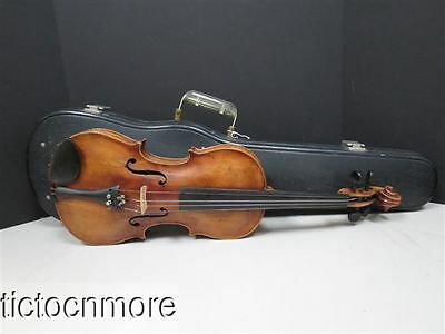 VINTAGE JAKOBUS STAINER COPY VIOLIN HARD CASE GERMANY on Rummage