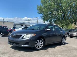 2010 Toyota Corolla CE/AUTO/AC/AUX/CRUISE/BAS KM/ECO/GROUP ELECT