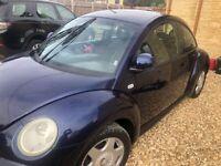 Volkswagen, BEETLE, Hatchback, 2001, Manual, 1596 (cc), 3 doors