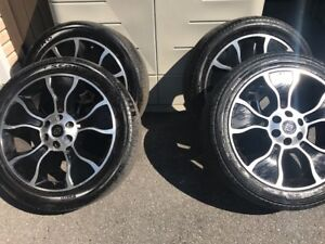 4 Wheels and Tires for 2012 Ford F150 Harley Davidson