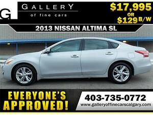 2013 Nissan Altima 2.5 SL $129 BI-WEEKLY APPLY NOW DRIVE NOW
