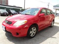 2005 Toyota Matrix XR CERTIFIED AND E-TEST