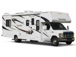 23 Class C Motor Home for Rent!