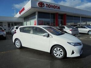2014 Toyota Corolla ZRE182R Ascent Glacier White 7 Speed CVT Auto Sequential Hatchback Belmore Canterbury Area Preview