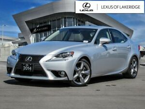 2014 Lexus IS 350 Executive, One Owner, No Accidents, Navigation