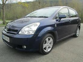 Toyota Corolla Verso Verso T3 VVT-I Mpv (multi-Purpose Vehicle) PETROL 2005/05