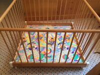 Children's play pen from Harrods- fine quality, new , German brand, cost £299