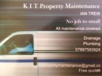 KIT property maintenance , all maintenance undertaken no job to small, call for quote 07887593924