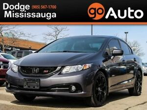 2015 Honda Civic SI+NAV+SUNROOF+V-TECH+ALLOYS+MORE