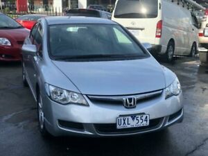 2007 Honda Civic MY07 VTi-L Silver 5 Speed Automatic Sedan Burwood Whitehorse Area Preview