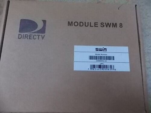 New Direct TV SWM8R2-03 Metal Module 8 Channel SWM For 29V Power Inserter In Box