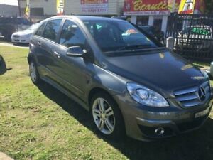 2010 Mercedes-Benz B180 W245 MY10 Grey Constant Variable Hatchback Yagoona Bankstown Area Preview