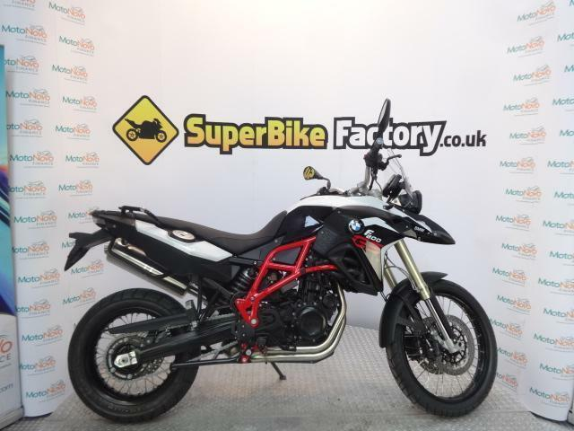 2016 16 Bmw F800 Gs Rallye Light White Black Storm In