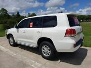 2007 Toyota Landcruiser VDJ200R GXL White 6 Speed Sports Automatic Wagon Gympie Gympie Area Preview