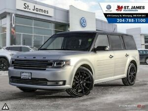 2018 Ford Flex Limited NAVIGATION, LEATHER, 7 SEATER, HEATED SEA