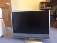 "Panasonic 26"" TV old style flat screen"