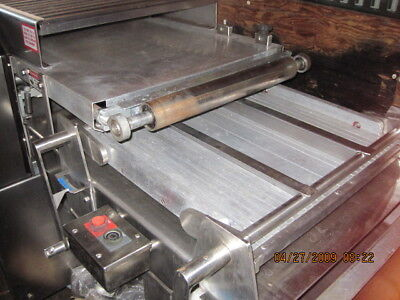 Moline Dough Sheeter Moulder Stainless Steel 1-6 Month Guarantee Shipping
