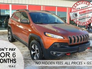 2014 Jeep Cherokee TRAILHAWK, GREAT CONDITION, LEATHER
