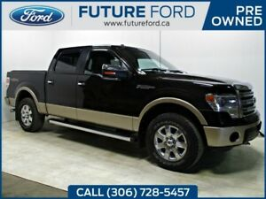 2013 Ford F-150 LARIAT|LOCAL TRADE IN|REAR CAMERA